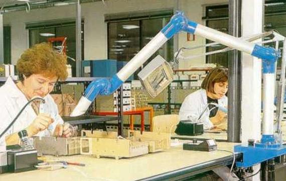 Brazo de aspiración industrial Probis
